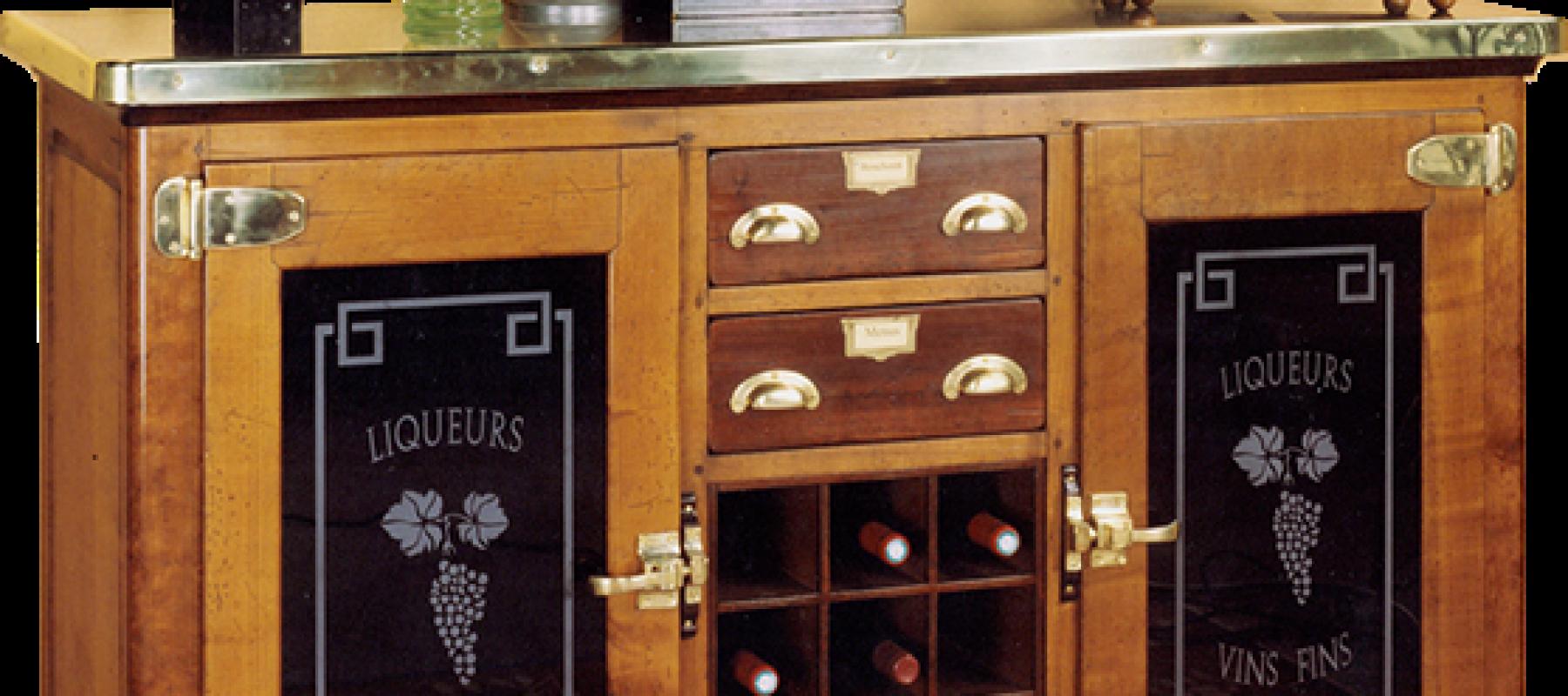 meuble de liquoriste de Félix Monge